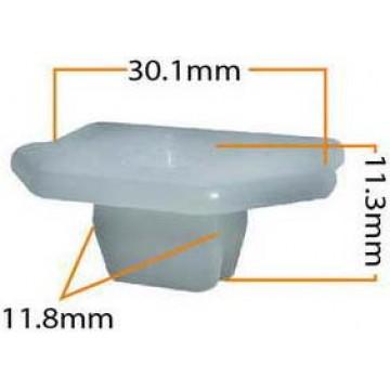 Крепление угла переднего бампера, Rx 300, 98-2003