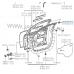 Уголок дверной рамки(RH), Lexus Rx330/350