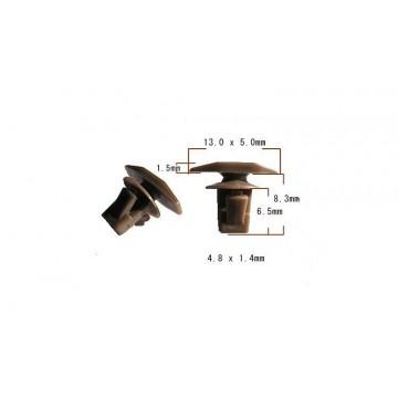 Клипса уплотнительной резинки над фарой, Delica 94-2006