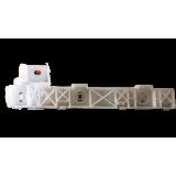 Крепление бампера (FR,RH), Lancer Evo 07-on