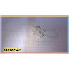 Клипса крепления упора капота,  Lancer 2000-2014