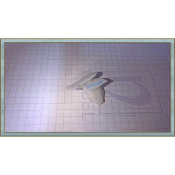 Клипса расширителя переднего крыла (type 2), Patrol (GR) (Y61) 97-2010