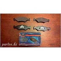 Brake pads front, Escort 85-90