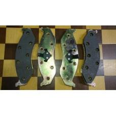 Тормозные колодки (FR), Grand Cherokee 90-2001