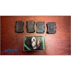 Brake pads disc front, Mazda 121