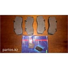 Brake pads front, Sprinter 905 T5 2001-2006