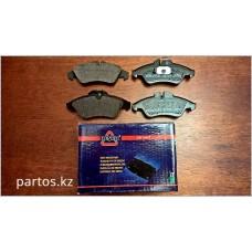 Front brake pads, Vito 99-2004