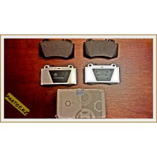 Brake pads front, W220 98-2005
