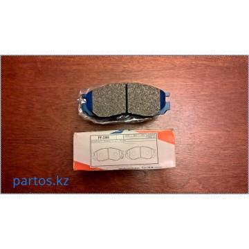Brake pads front, Delica 94-2006