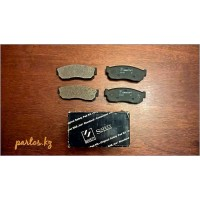 Brake pads front, Sunny 86-91