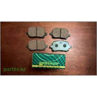 Brake pads: front 96-2001 Camry gracia