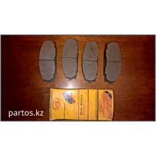 Brake pads disc front, Hiace 95-2011