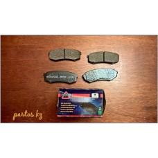Brake pads rear, Land Cruiser 70-series