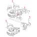 Клипса на тягу дверных замков (Type 2), Transporter 91-2004
